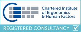 Chartered Institute of Ergonomics & Human Factors Registered Consultancy