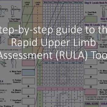 Rapid Upper limb Assessment (RULA) worksheet